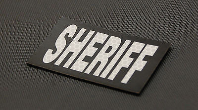 SOLAS Infrared Reflective SHERIFF Patch