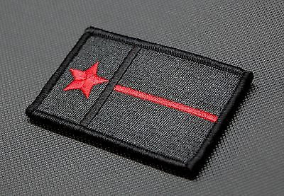 Texas Thin Red Line State Flag Morale Patch