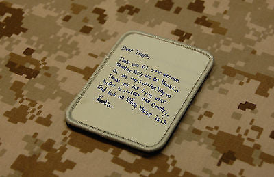 Dear Troops Letter Morale Patch
