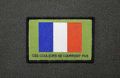 France THESE COLOURS DON'T RUN Morale Patch