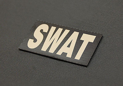 Infrared SWAT Patch - Tan & Black