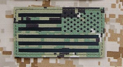 Infrared NWU Type III IR Reverse US Flag Patch