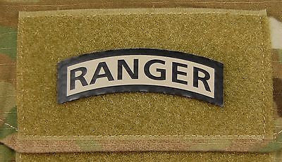Infrared US Army Ranger Tab Patch