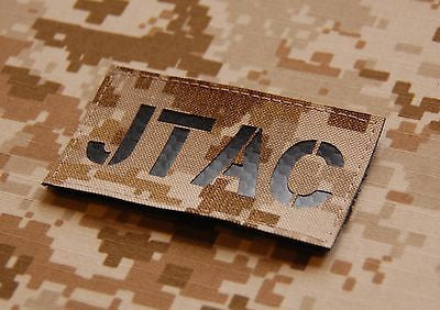 Infrared AOR1 JTAC Call Sign Patch