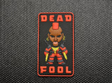 Dead Fool 3D PVC Morale Patch