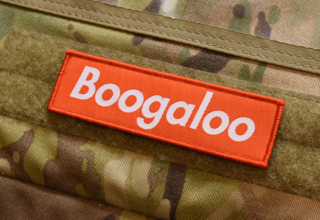 Boogaloo Woven Morale Patch