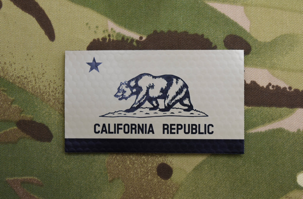 Infrared California State Flag Patch