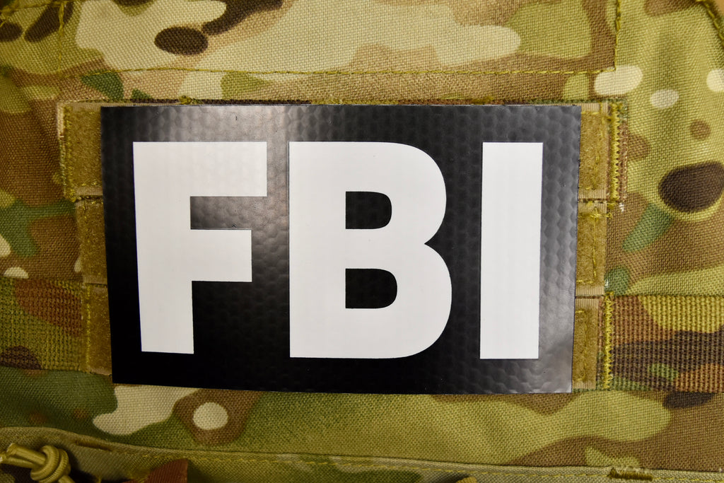 Large Infrared FBI Patch