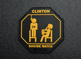 Clinton Suicide Watch & Epstein Didn't Kill Himself Morale Patch Set