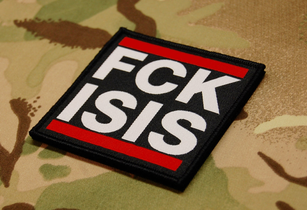 FCK ISIS Morale Woven Patch