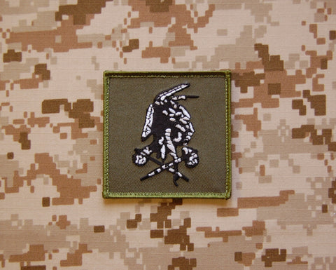 US Flag THESE COLORS DON'T RUN GITD Morale Patch - Tan