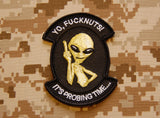 YO FUCKNUTS - IT'S PROBING TIME Morale Patch
