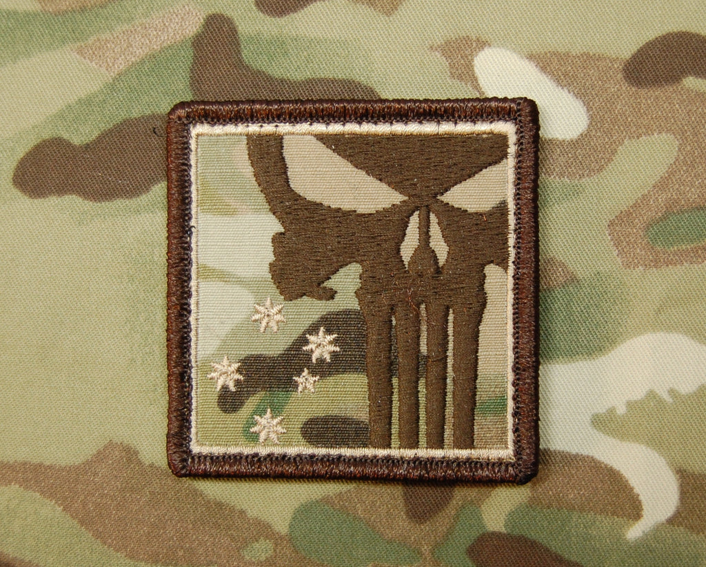 TTA Multicam Southern Cross Punisher Skull Morale Patch