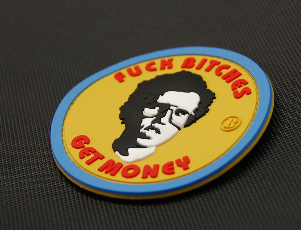Napoleon Dynamite Fuck Bitches Get Money 3D PVC Morale Patch