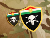 3D PVC Peshmerganor Supporter Patch - Cover Size