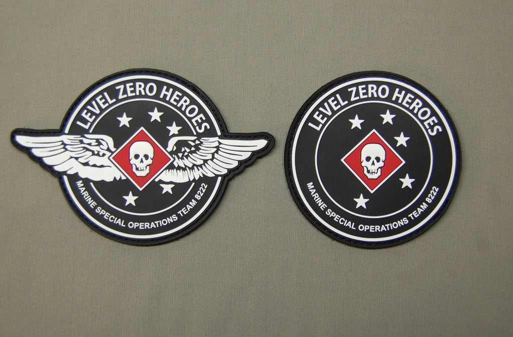 Level Zero Heroes PVC Patch Bundle