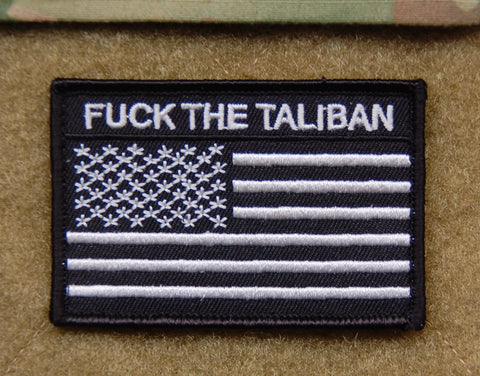 Premium Embroidered DON'T FUCK WITH US Morale Patch