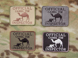 OFFICIAL CAMEL TOE INSPECTOR Morale Patch