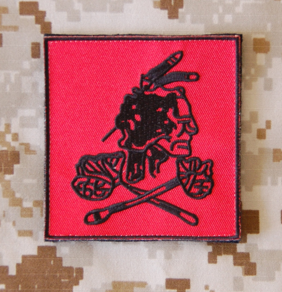 Replica NSWDG Red Squadron VIP Protection Team Patch - Red Version