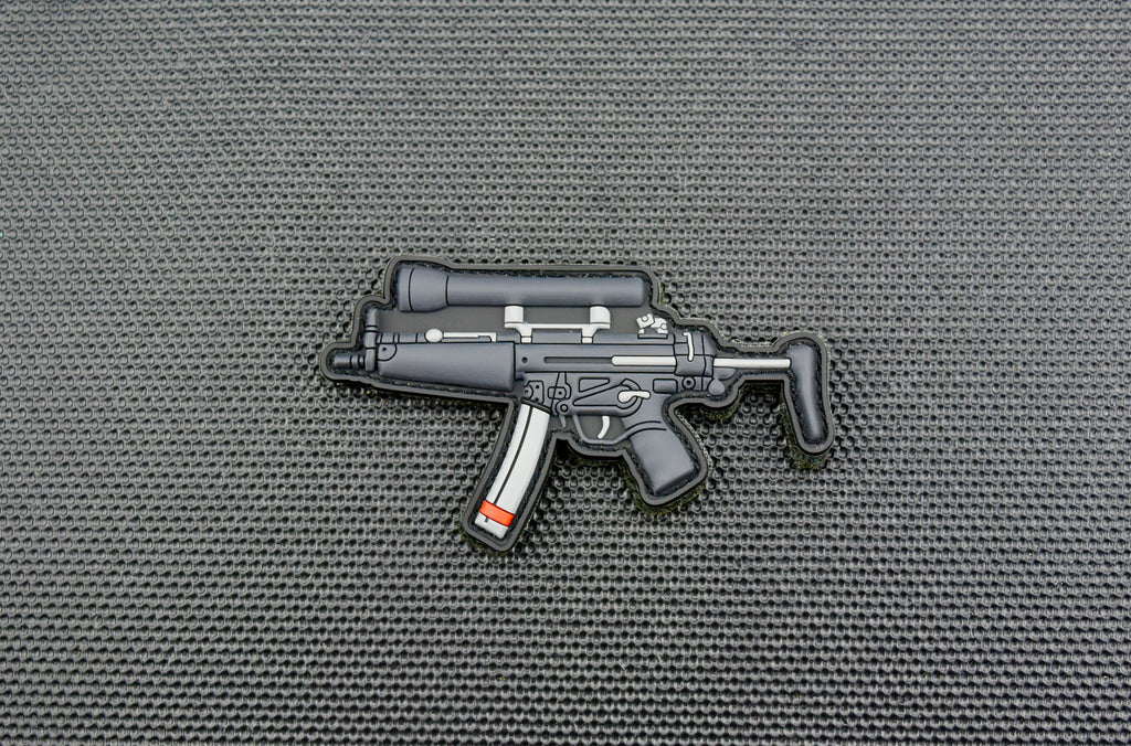 MP5A3 3D PVC Patch