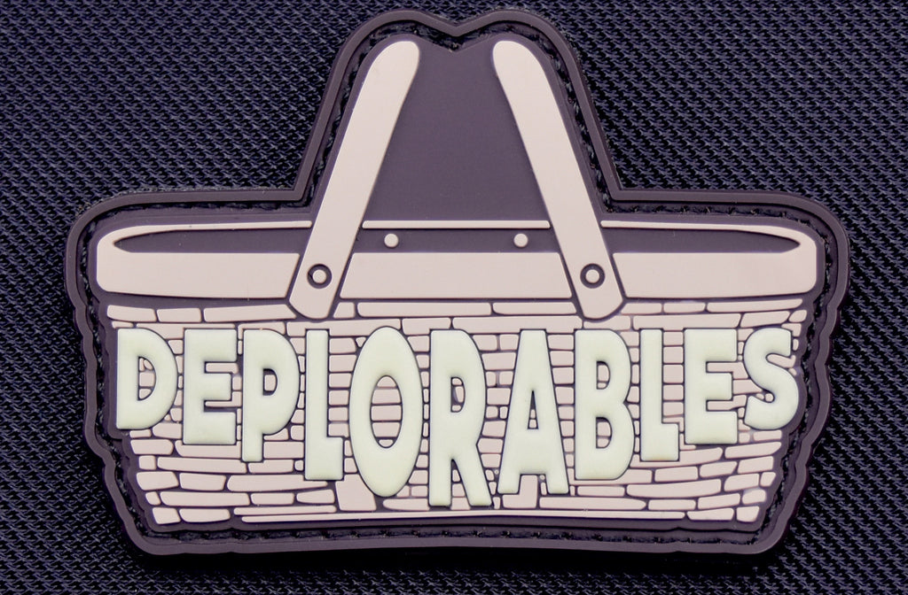 Basket Of Deplorables GITD 3D PVC Morale Patch