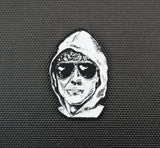 Unabomber Woven Morale Patch - Iron-on Backing