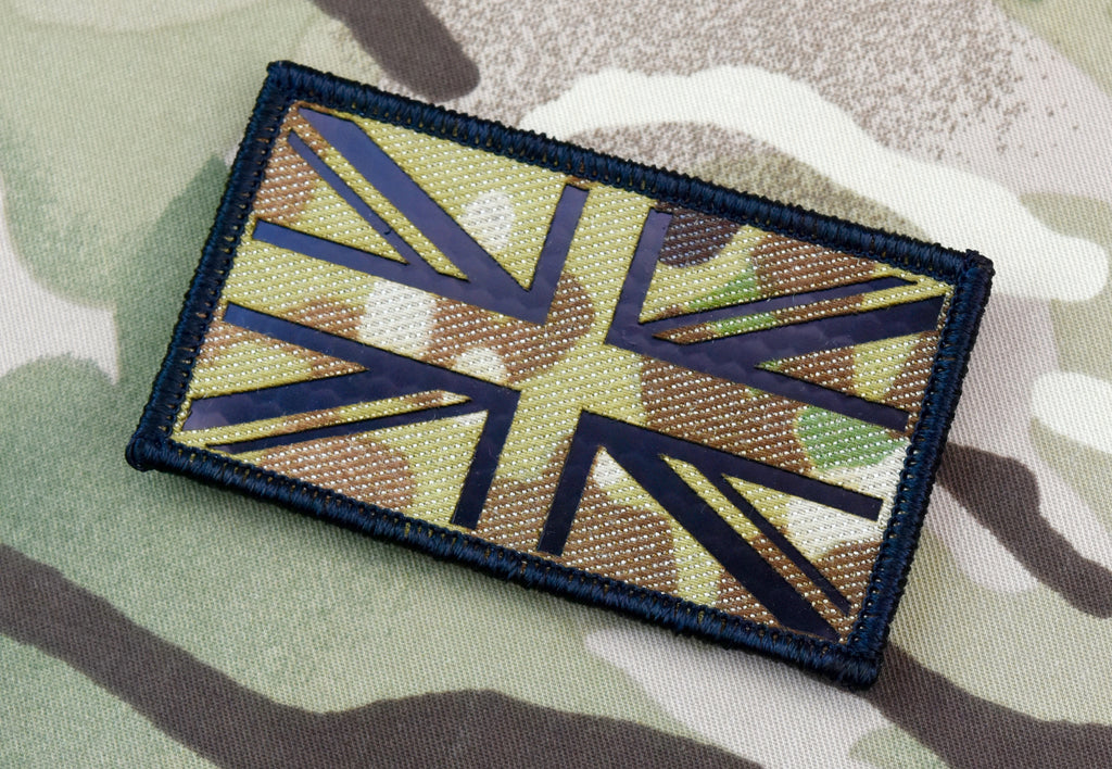 Infrared Multicam UK Flag