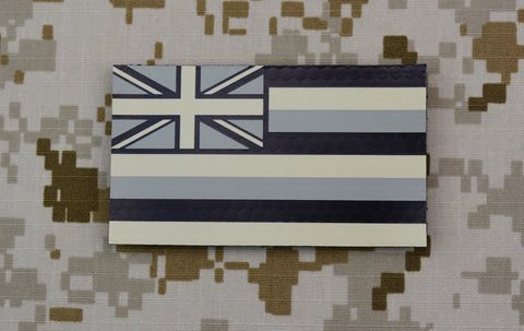 Infrared POLICE Black & Tan IR Patch
