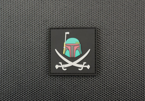3D PVC Infidel Christian Fish Morale Patch - Multicam