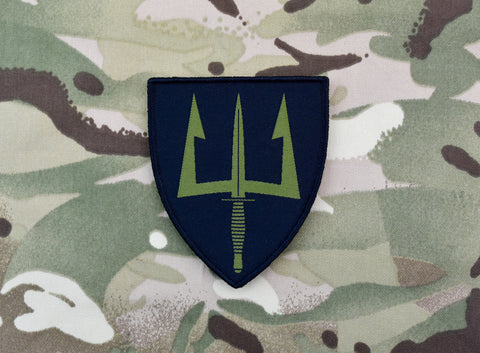 Subdued Spetsnaz Skull Russian Flag Morale Patch