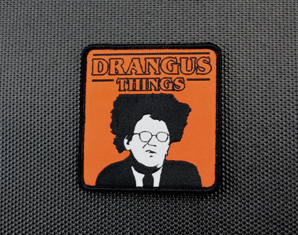 DRANGUS THINGS Woven Morale Patch