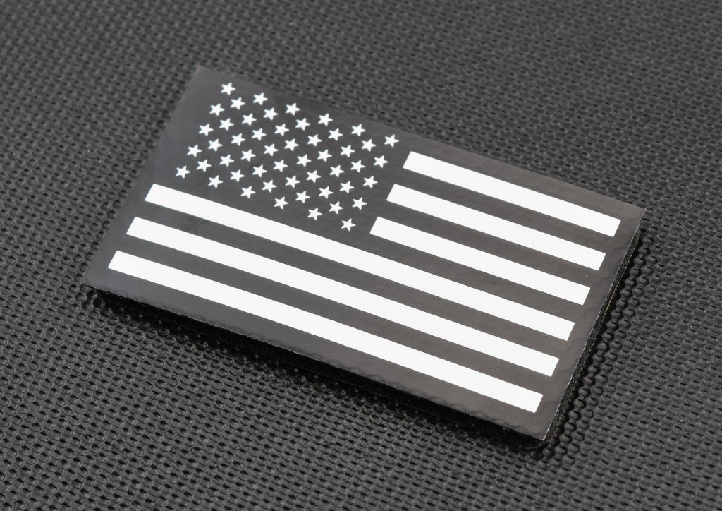 Black & White Infrared US Flag Patch
