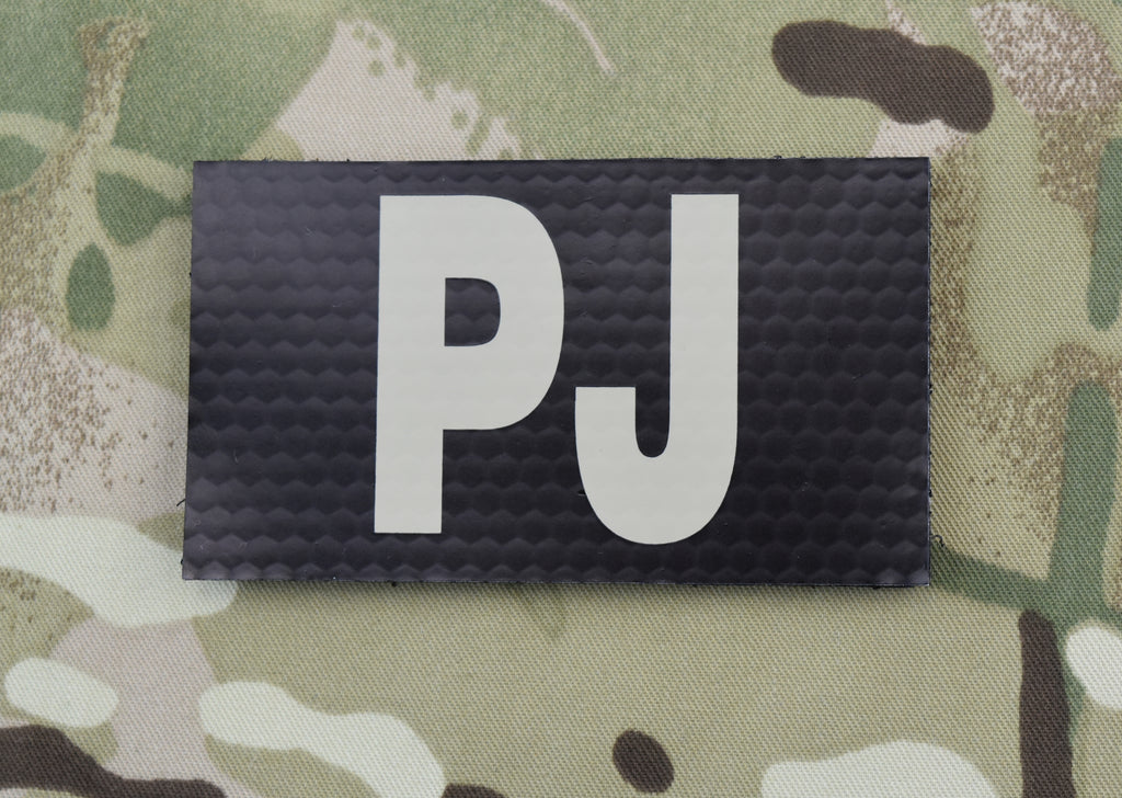 Infrared Black & Tan PJ Patch