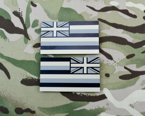 SOLAS Reflective Union Flag Patch