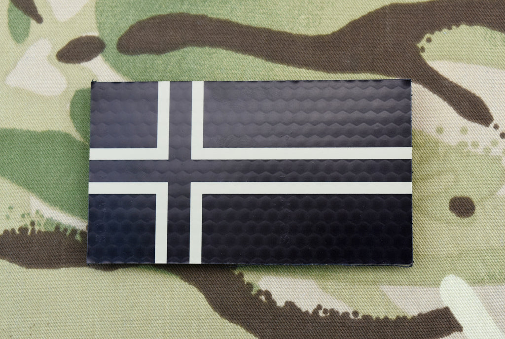 Infrared Norway Flag - Tan