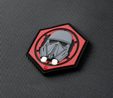 First Order Death Trooper 3D PVC GITD Morale Patch