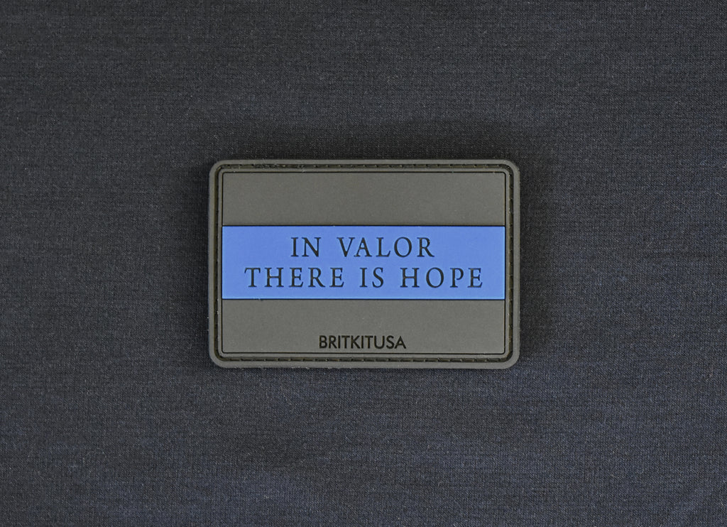 In Valor There Is Hope PVC Patch