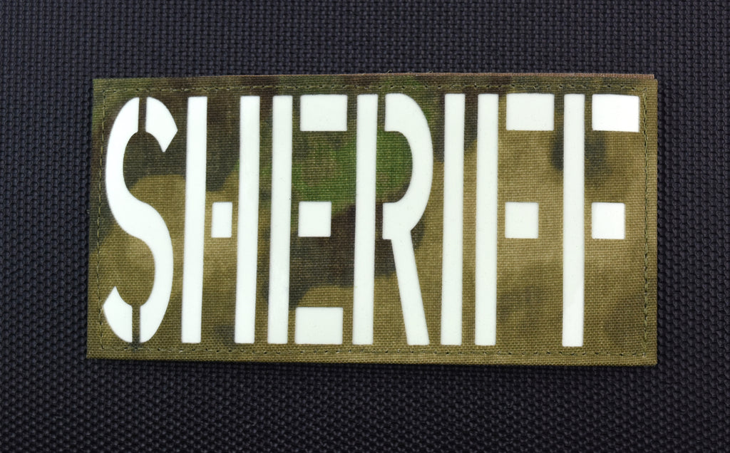 Large ATACS-FG Luminescent SHERIFF Patch