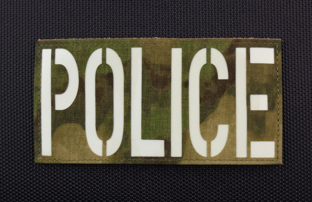 Large ATACS-FG Luminescent POLICE Patch
