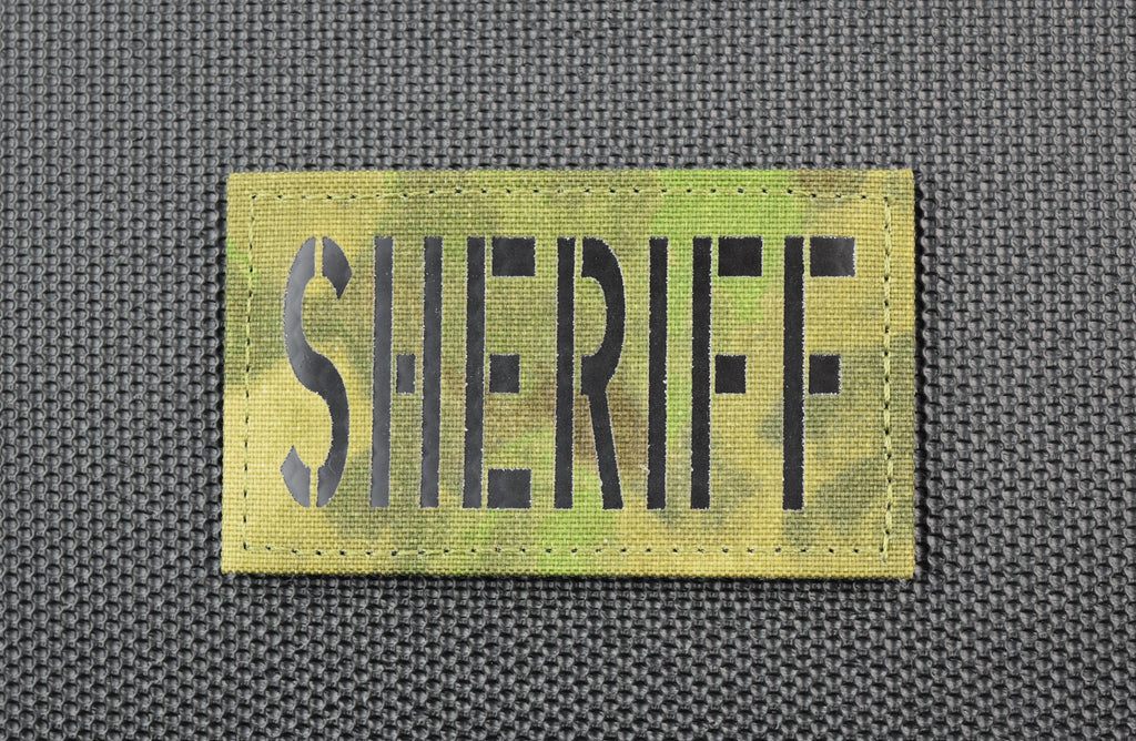 Infrared ATACS-FG SHERIFF Patch