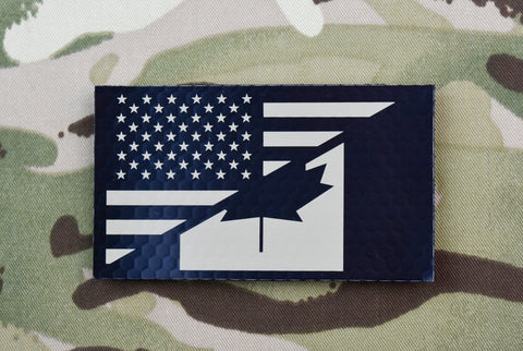 US Flag PVC Morale Patch - Urban