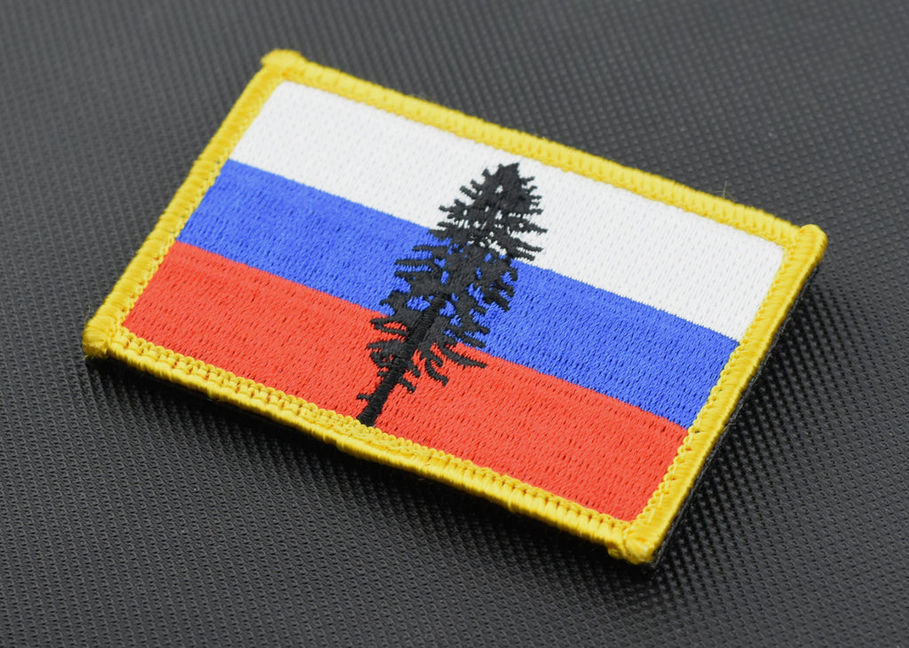Russian Cascadia Embroidered Morale Patch