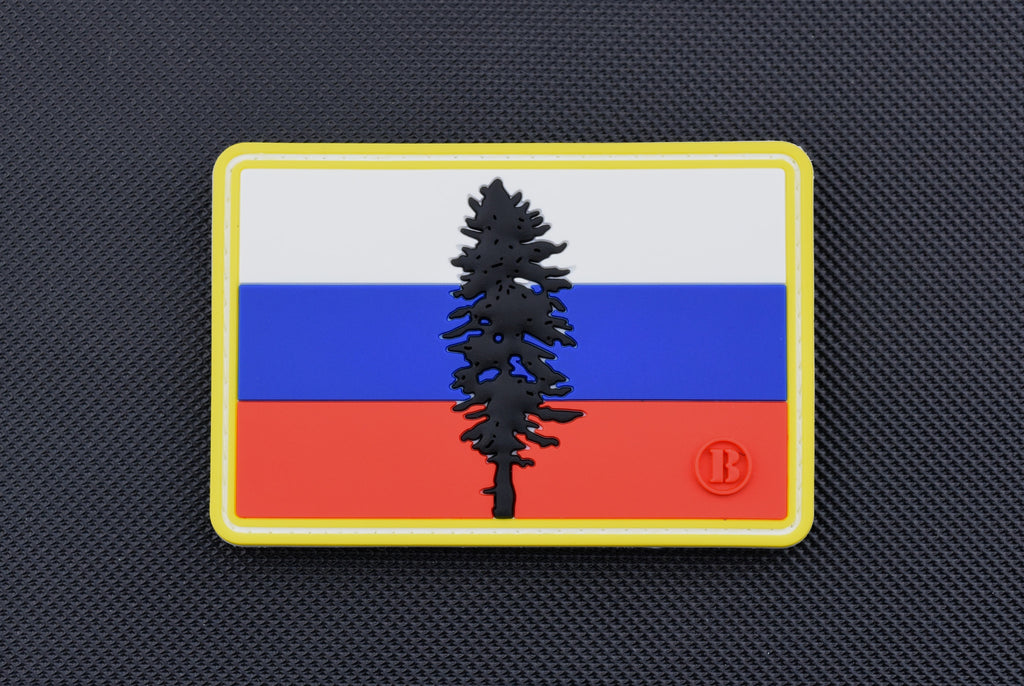 Russian Cascadia PVC Morale Patch