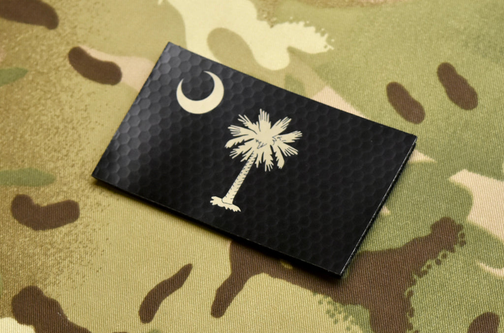 Infrared South Carolina State Flag Patch