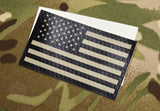 Infrared US Flag Decal Set
