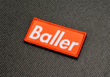Baller Woven Morale Patch