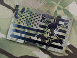 Infrared Multicam IR US Flag Patch 3.5