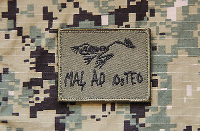 MAL AD OSTEO Morale Patch - Green