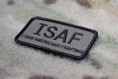 ISAF I Saw Americans Fighting Morale Patch - UCP/ACU Version