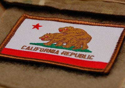 California State Flag Parody Morale Patch